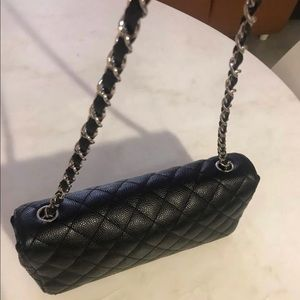 CHANEL Bags - SOLD! Authentic CHANEL Black Caviar East West Bag